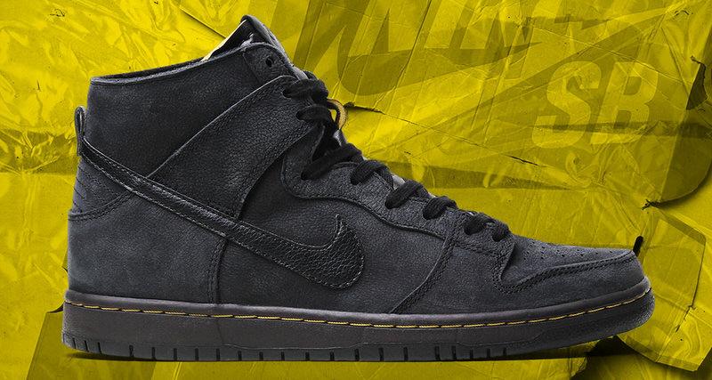 Nike Sb Dunk High Channels Dr Martens Boots Nice Kicks