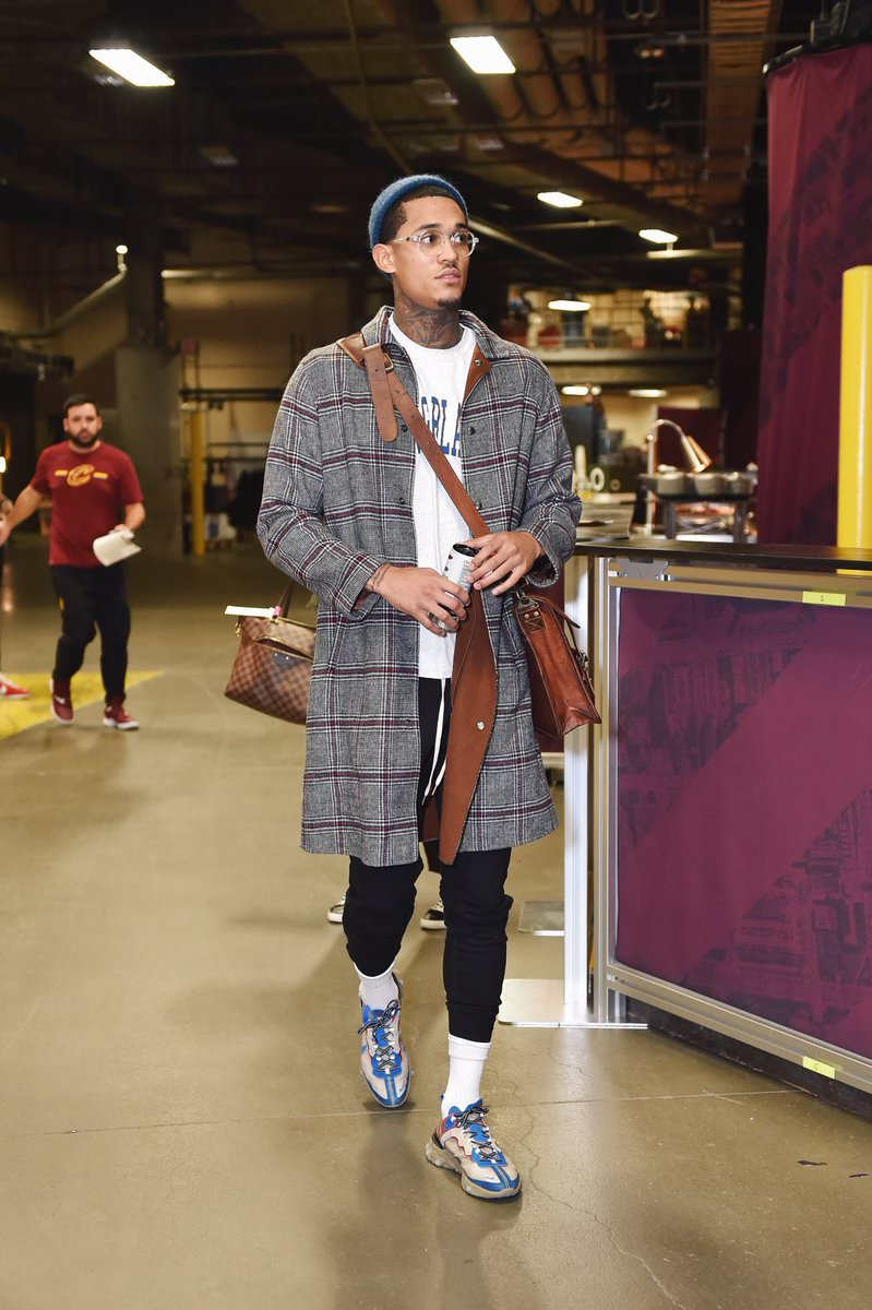 Jordan Clarkson in the Undercover x Nike React Element 87