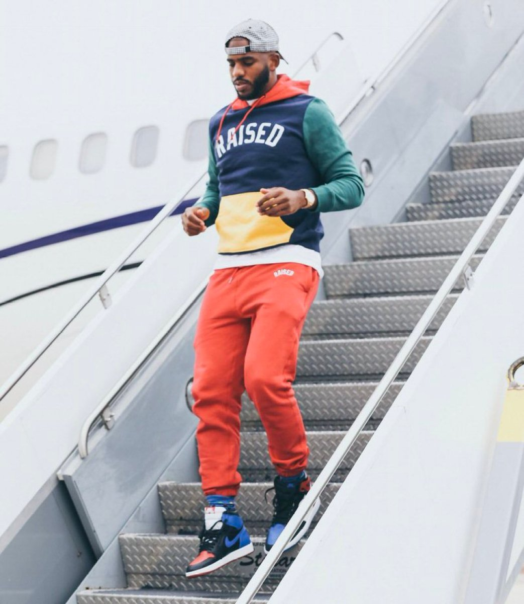 "Chris Paul in the Air Jordan 1 Retro High OG ""Top 3"""
