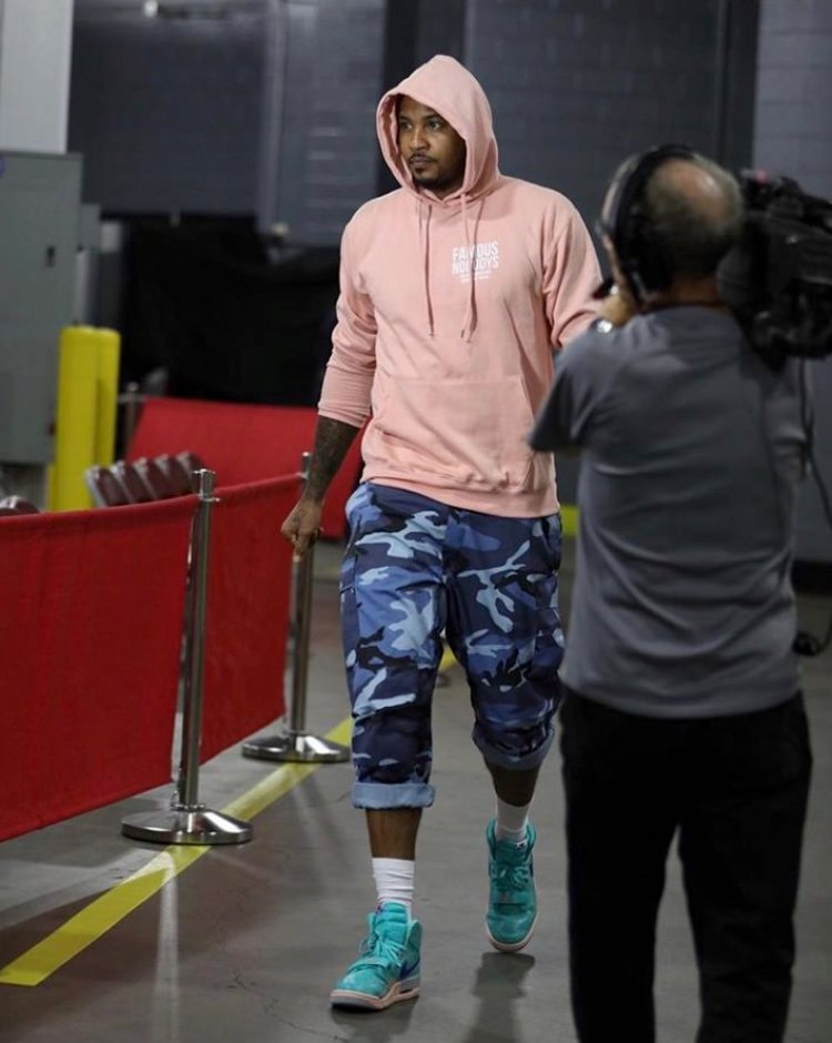 "Carmelo Anthony in the Air Jordan Legacy 312 ""Hyper Jade"""