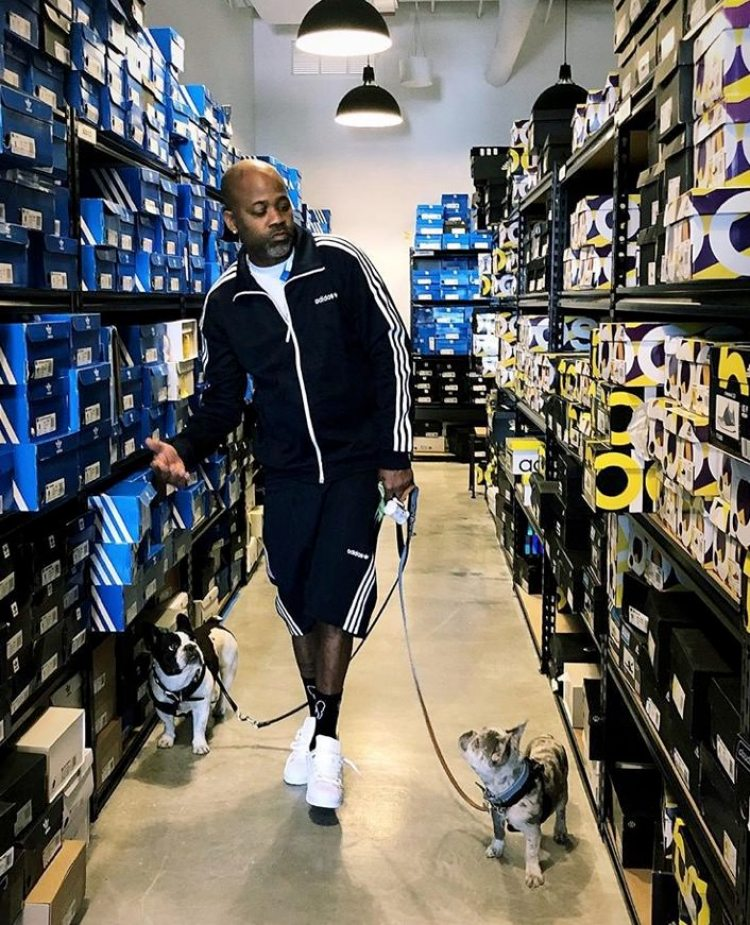Dame Dash in the adidas Pro Model