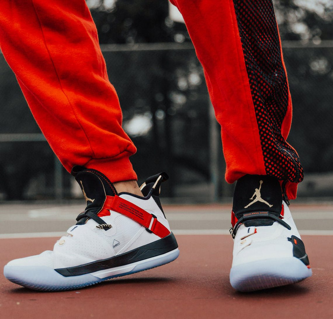 1cb710196620bf Styling the shoe with OG Nike Air Jordan Flight sweats circa  89 and the  famous Playground tee retro from the turn of the century