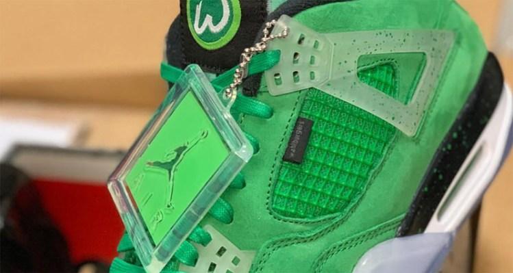 promo code 7a033 4ae68 Mark Wahlberg x Air Jordan 4
