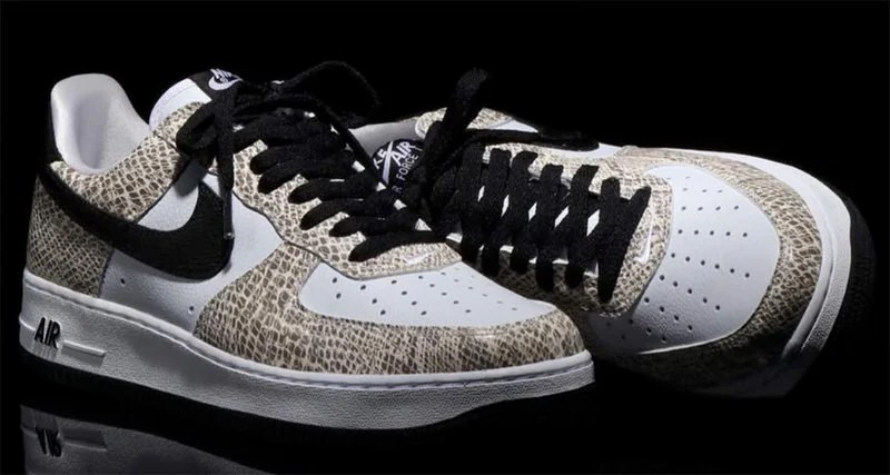 """classic fit 66fcf 8614f Nike Air Force 1 """"Cocoa Snake"""" Arriving at Atmos"""