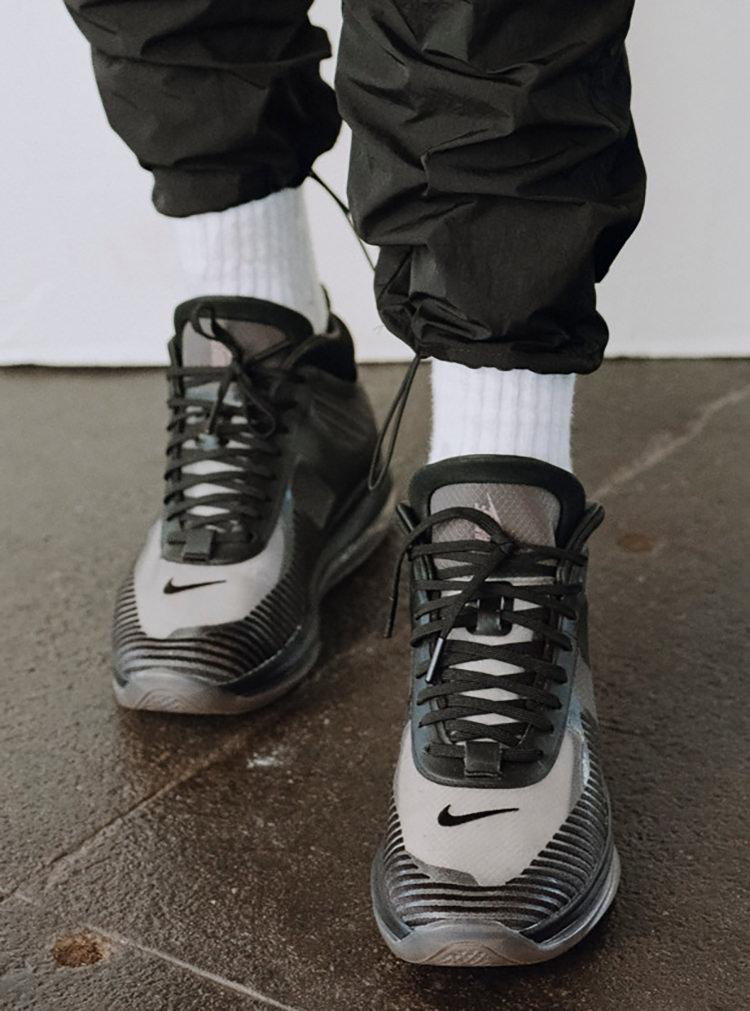"197cec8db94 John Elliott x Nike LeBron Icon Goes Lights Out on ""Triple Black"" Take"