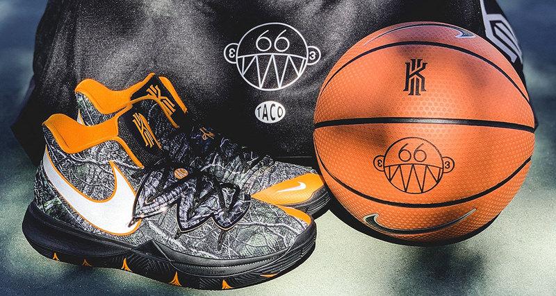 b6870b0e8fb1 Taco x Nike Kyrie 5 Pack Pops Up Tomorrow at LA Parks