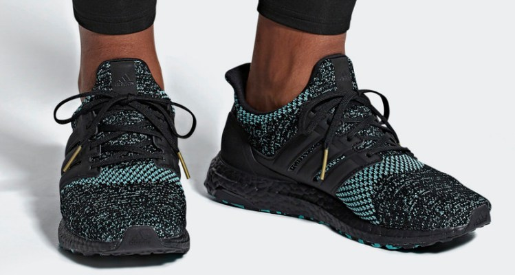 """competitive price 24784 6540a adidas Ultra Boost """"Core Black"""" Peppers Primeknit with Minty Accents"""