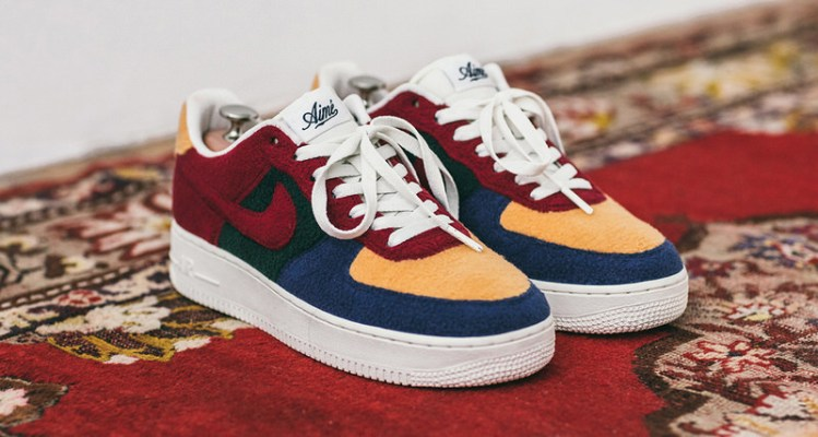 classic fit 790e5 0c660 Aimé Leon Dore x Nike Air Force 1 Bespoke