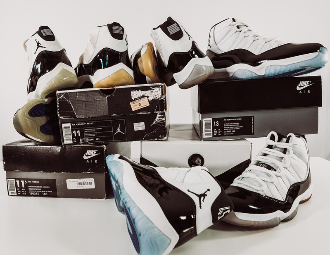 08a4560a756 Proving truly timeless, the Air Jordan 11 was named Best Shoe of the Slam  Era and rightfully so.