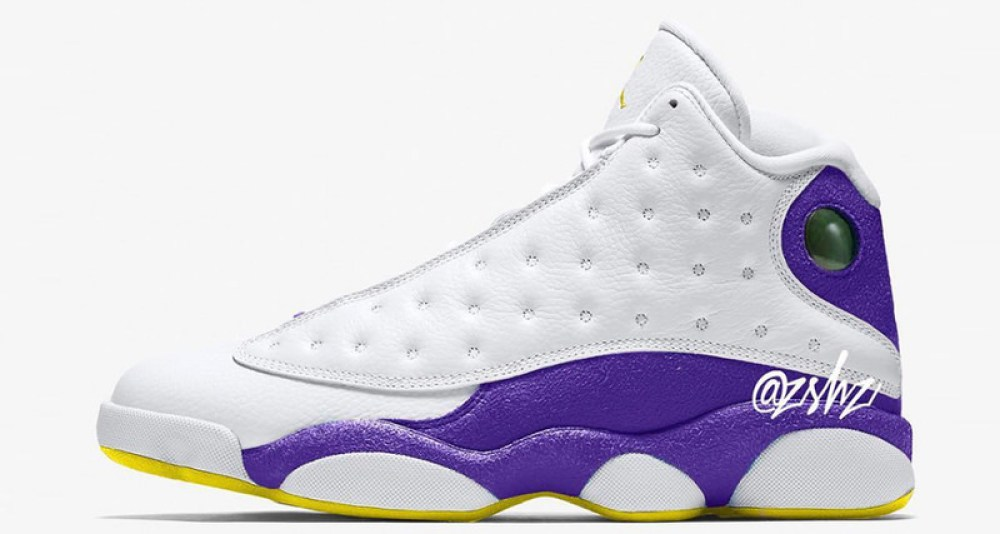 "official photos dbd3e 89514 Air Jordan 13 ""Lakers"" Expected Next Summer"