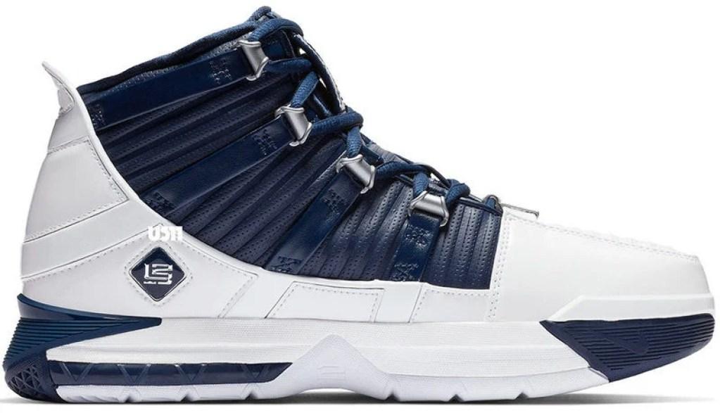 201885230db69 Nike Zoom LeBron 3 Midnight Navy