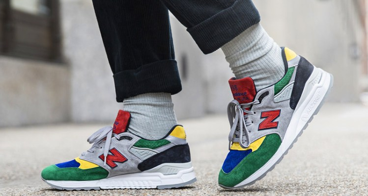 "Todd Snyder x New Balance 998 ""Color Spectrum"""