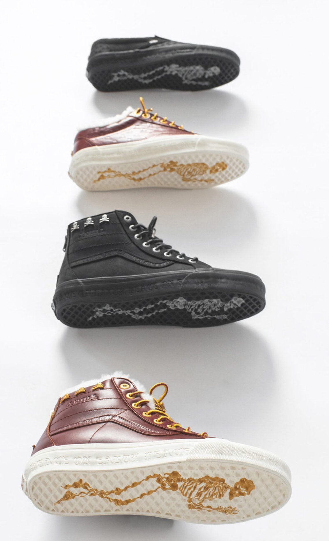 Kith x mastermind WORLD x Vans Collection