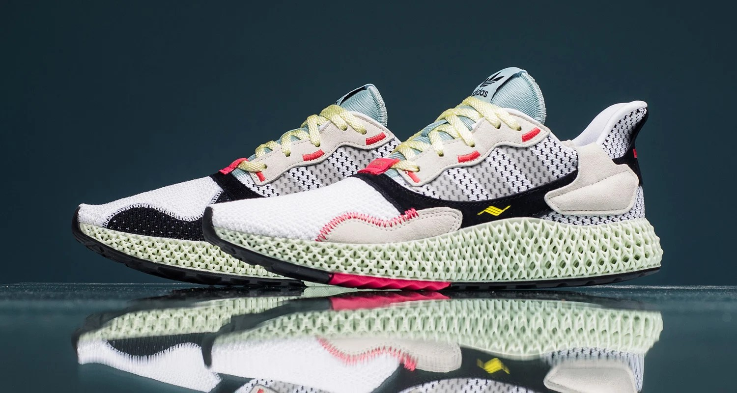 save off 3f995 66ad9 A Detailed Look at the adidas ZX 4000 4D