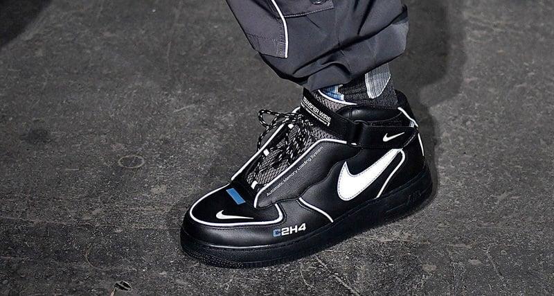 fa24194980c4 C2H4 Debuts Modern Take on Nike Air Force 1 Mid