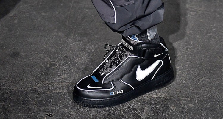C2H4 x Nike Air Force 1 Mid