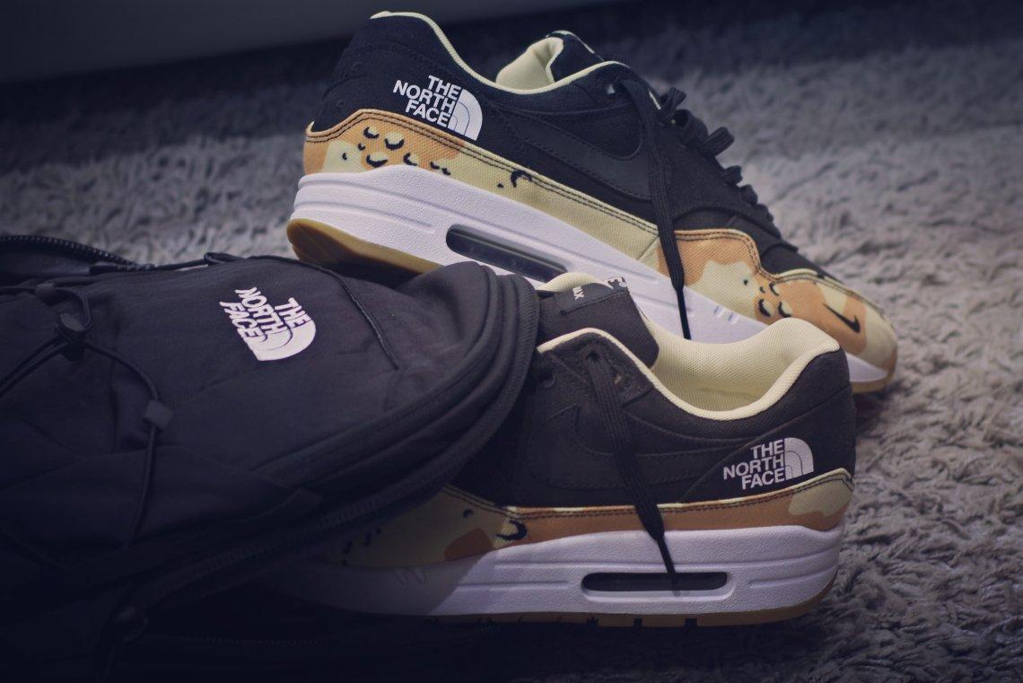 "1a70af2c01ce Nike Air Max 1 ""TNF"" by Dentkickscustoms"