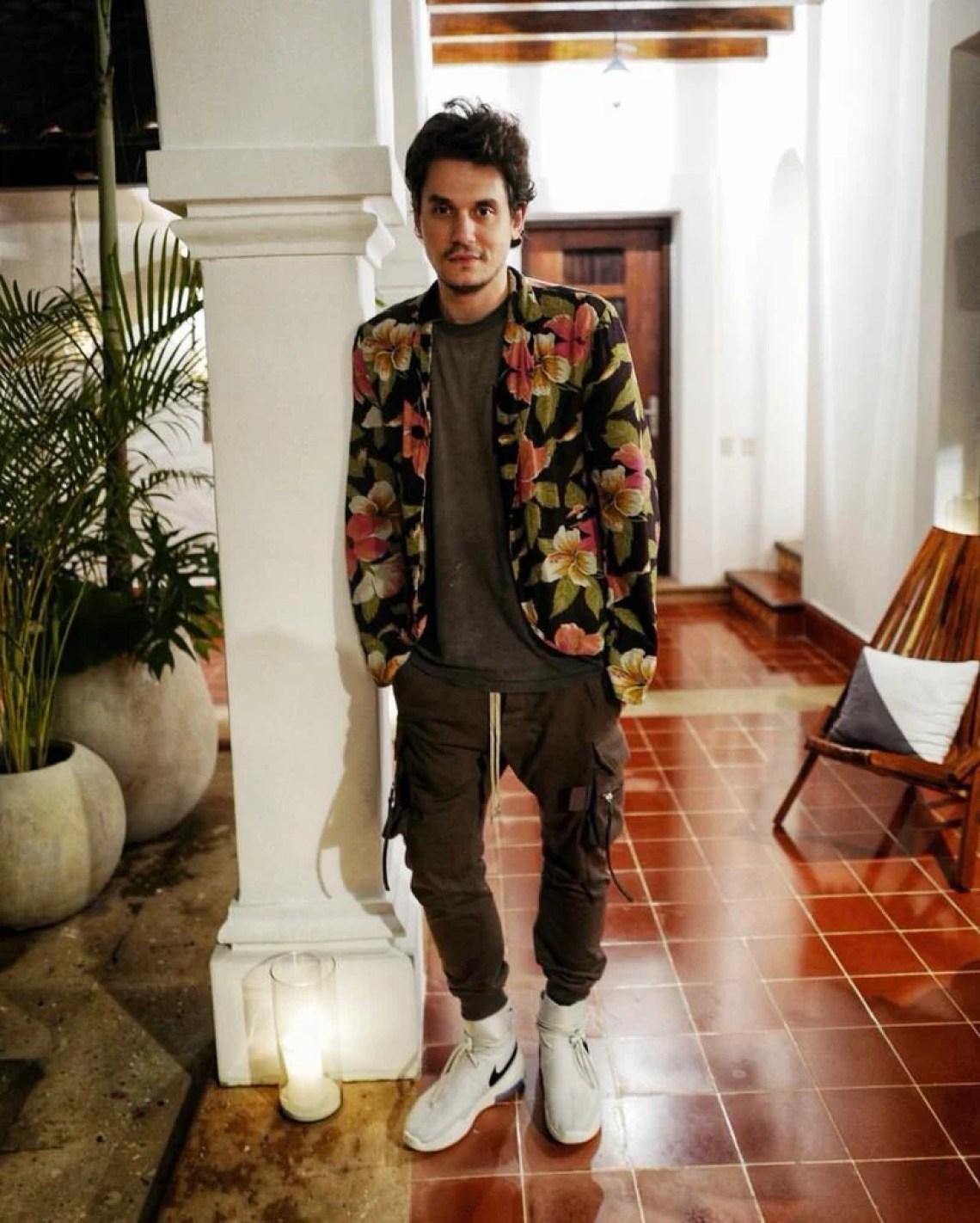How John Mayer Cranks Up the Style Barometer to Spirit Level