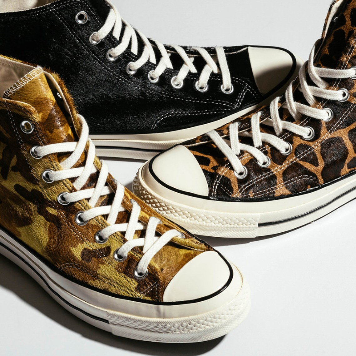 Pony Hair Triumphs on Latest Converse Chuck 70 Hi Collection