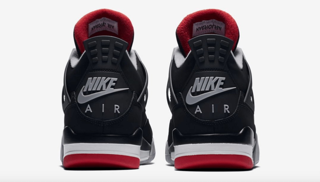 48594be0d9f2e2 nike air jordan 4 black red