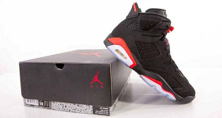 """a3afe6e09af0 Unboxing the Air Jordan 6 """"Black Infrared"""""""