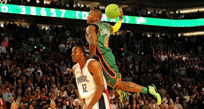 "cheap for discount df0b6 e17f9 Nate Robinson Won the Dunk Contest as ""KryptoNate"" 10 Years Ago Today"