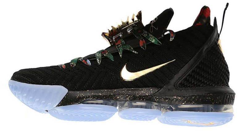 "best sneakers 36926 cc00e Nike LeBron 16 ""Watch the Throne"" to Release with OG Lace Jewels. Feb 12,  2019"