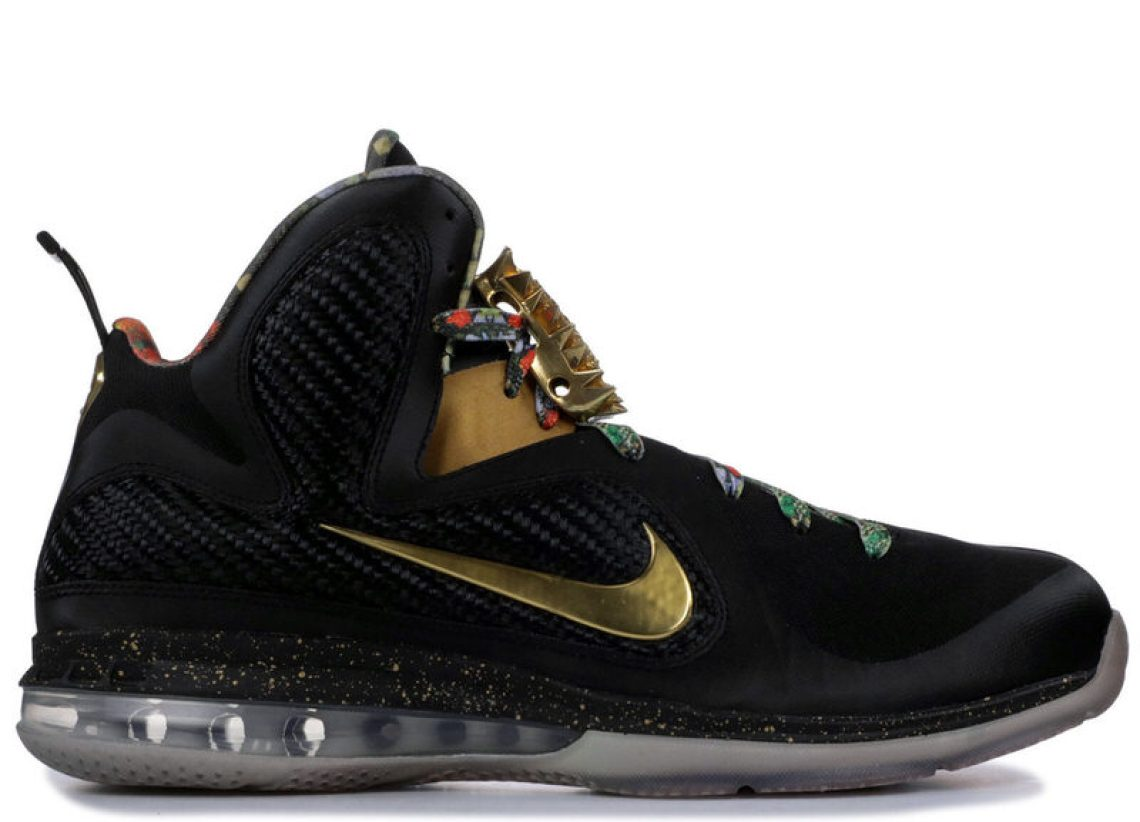 "info for 07bbc a56ea Nike LeBron 9 ""Watch the Throne"" PE (via Flight Club)"