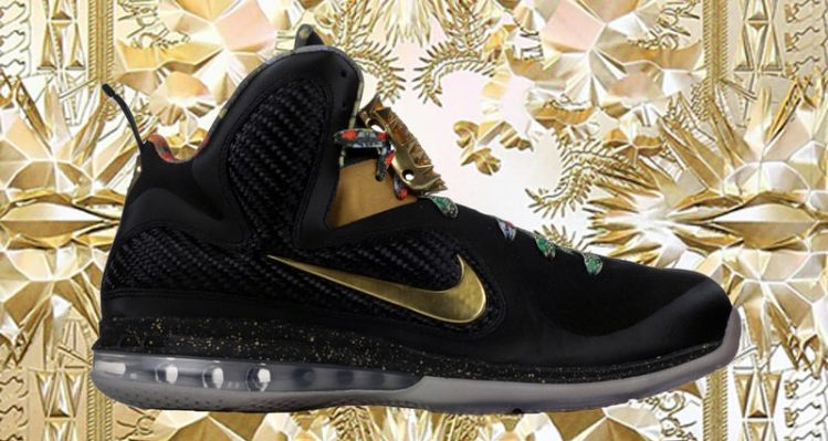 """44b5d15daaad Remembering the """"Watch the Throne"""" Nike LeBron 9"""