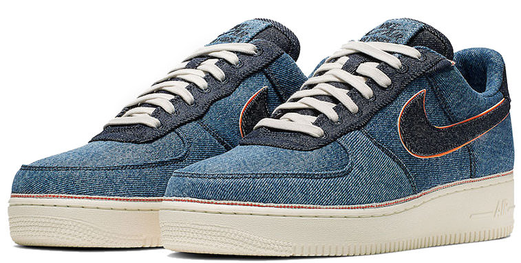 "low priced 9381d 8ea40 3×1 x Nike Air Force 1 ""Denim Pack"""