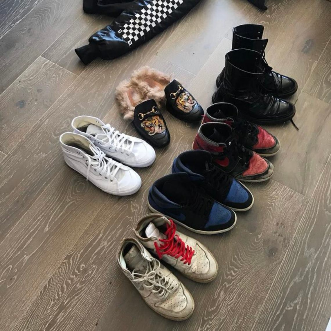 Rhuigi demonstrates that you can still have a footwear rotation that stomps without having to have a massive collection.