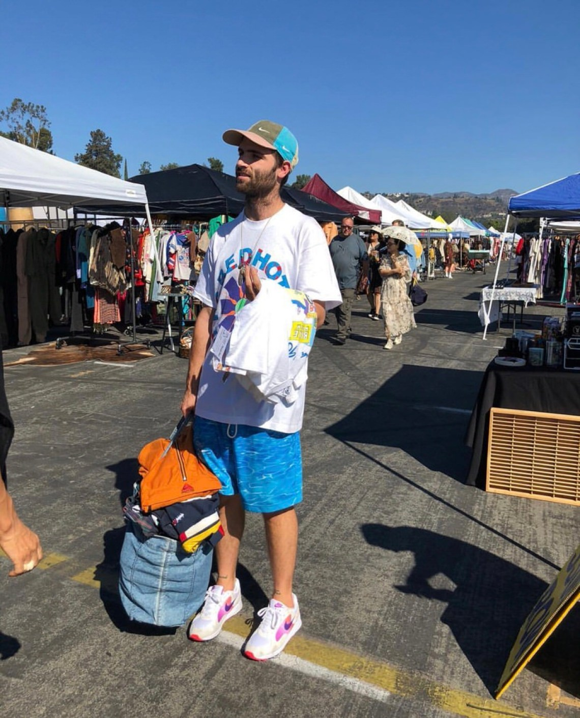 Red hot finds at the Rose Bowl.