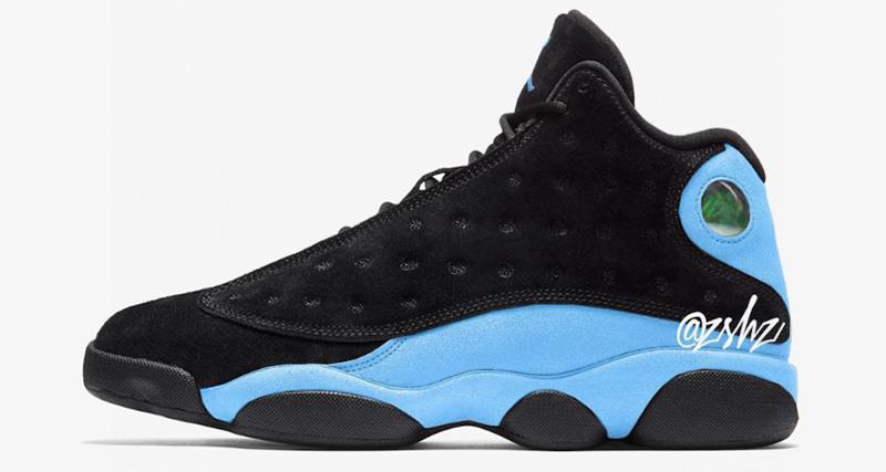 new product d9c95 37278 Air Jordan 13 Black Blue