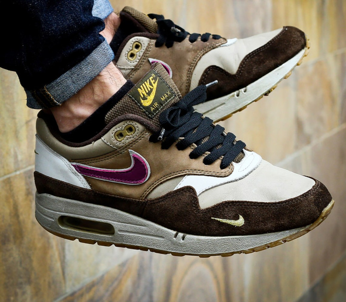 brand new 7f600 afaba photo by Max Klein. Wear your Airs, lace up your pair of atmos Air Max 1  Viotechs, and ...