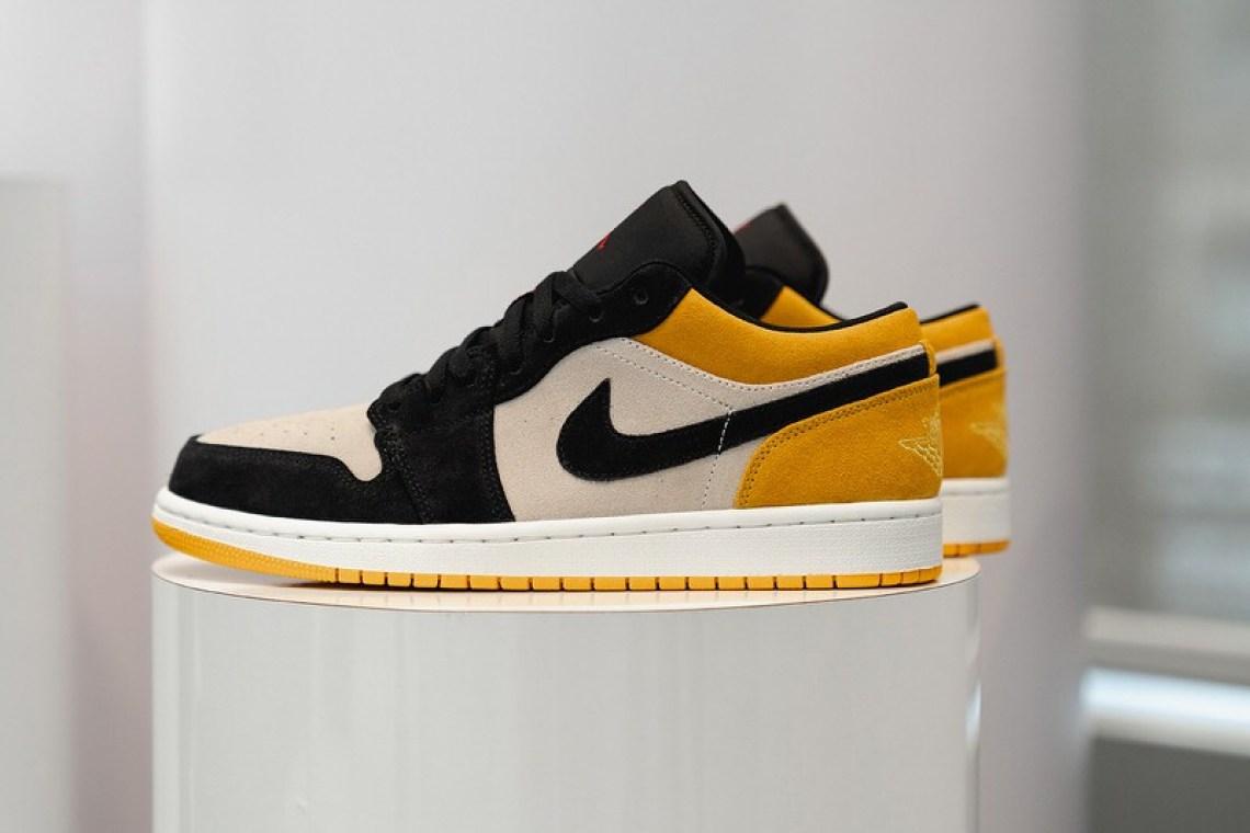 Air Jordan 1 Low University Gold/Black