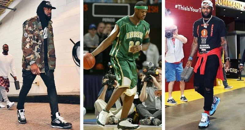 84514a59084f A History of LeBron James Wearing Air Jordans