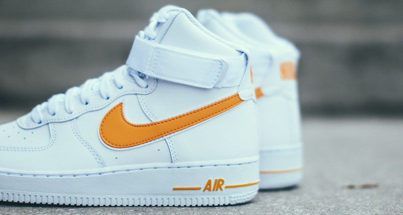 a4035f271 Nike Air Force 1 High Returns in University Gold | Nice Kicks