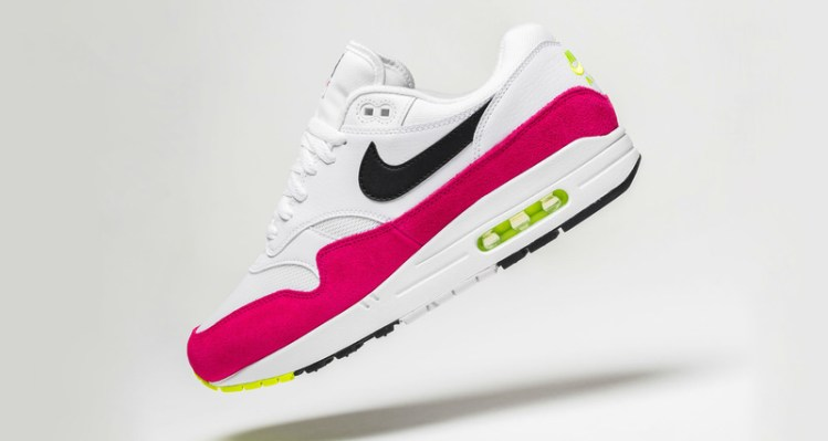 promo code f6d7f 68729 Nike Air Max 1 Rush Pink Volt