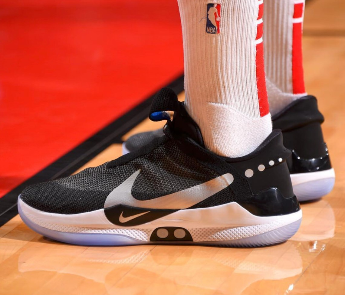 info for 901dc 9b2c7 ... PJ Tucker in the Nike Hyper Adapt BB (photo by Bill Baptist NBAE via  Getty Images via Sole Collector) ...