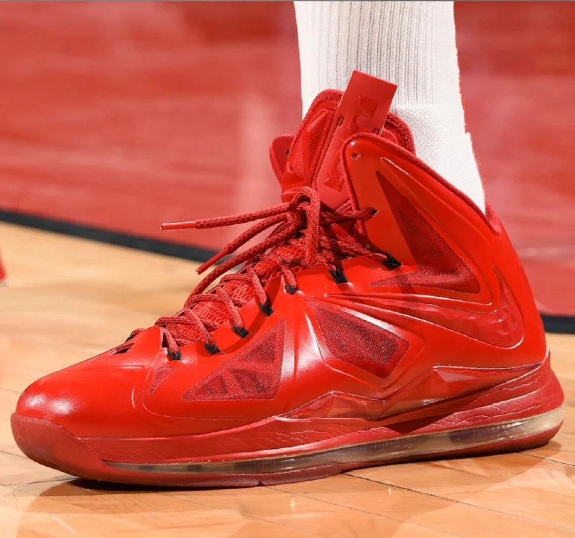 quite nice 8a747 11113 ... PJ Tucker in a Nike LeBron X iD (photo via BR Kicks) ...