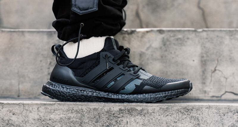 "9b27a7c772e7d A Closer Look at the Undefeated x adidas Ultra Boost 1.0 ""Triple Black"""