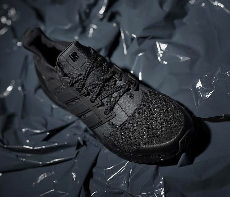 "Undefeated x adidas Ultra Boost ""Triple Black"""