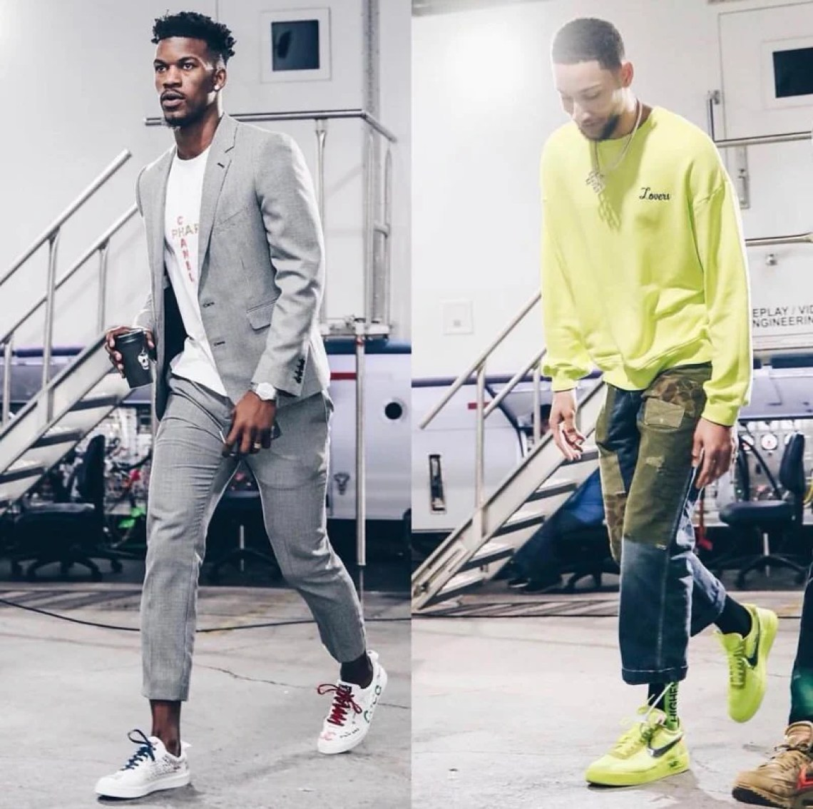Loud luxury is the name of the game in the 2019 NBA Playoffs.