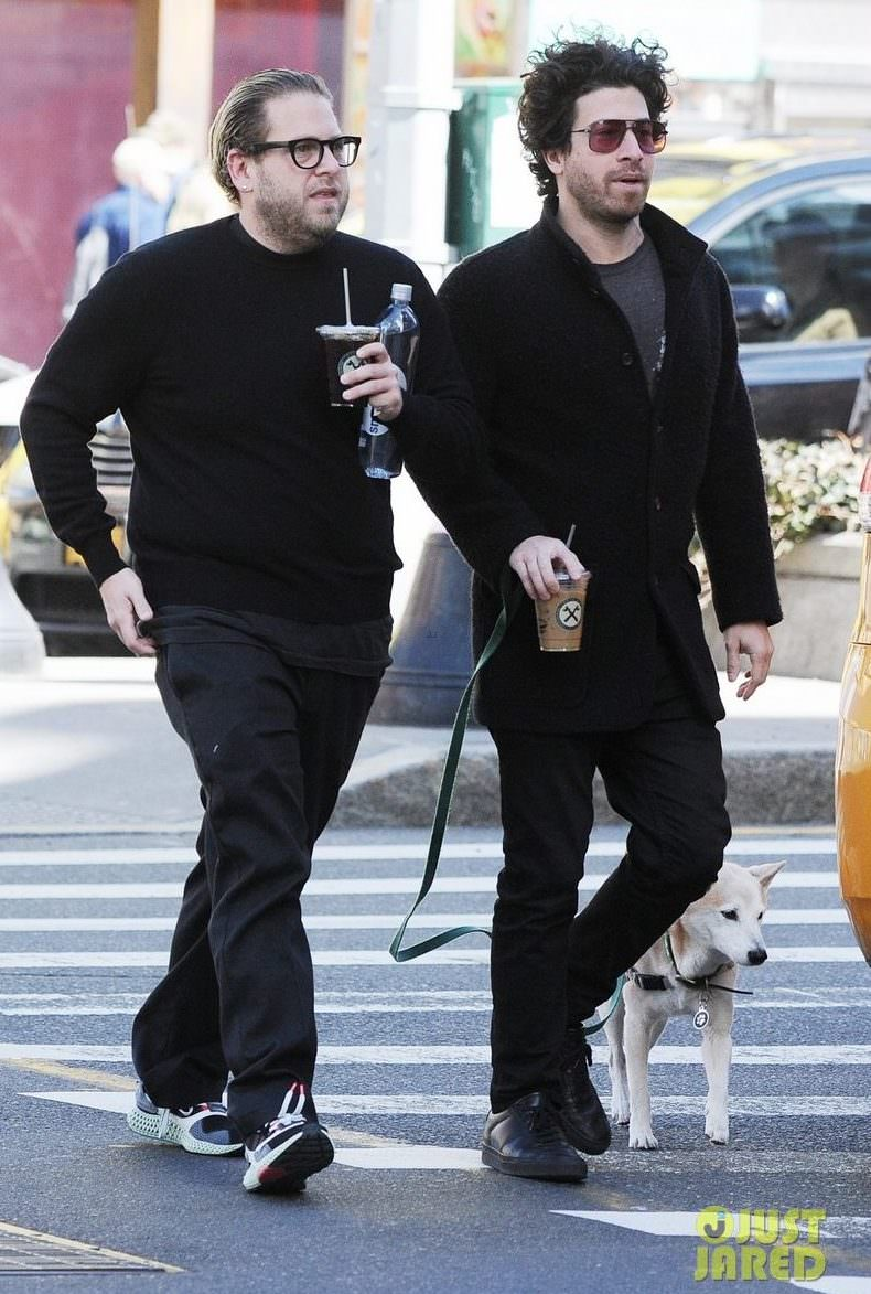 Jonah Hill in the adidas ZX 4000 4D