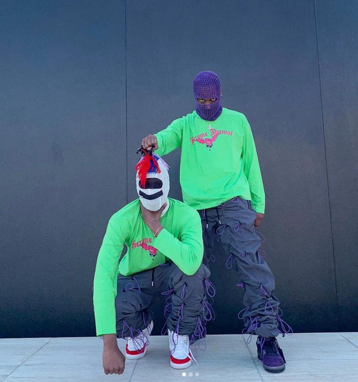 Bloody Osiris in the Travis Scott x Air Jordan 4
