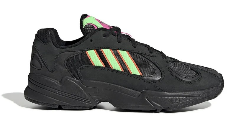 2c92d3516 Adidas Yung-1  Black Neon  Draws Inspiration from Tokyo s Bright Lights