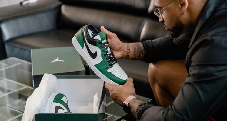 """Air Jordan 1 Low """"Jets"""""""