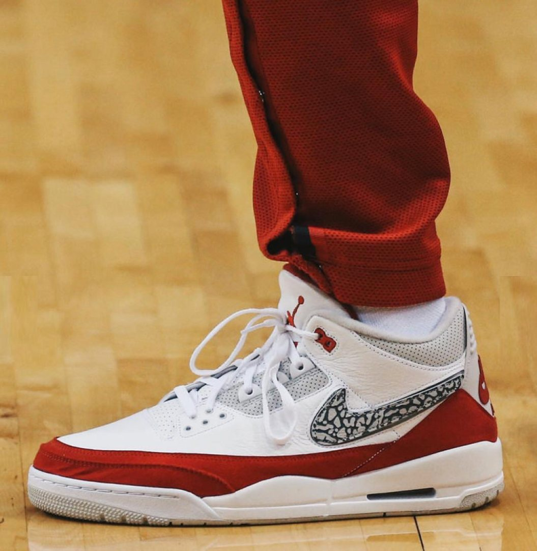 "b28edbda3b81 ... PJ Tucker in the Air Jordan 3 Tinker ""Air Max Day"" (photo via BR Kicks)  ..."
