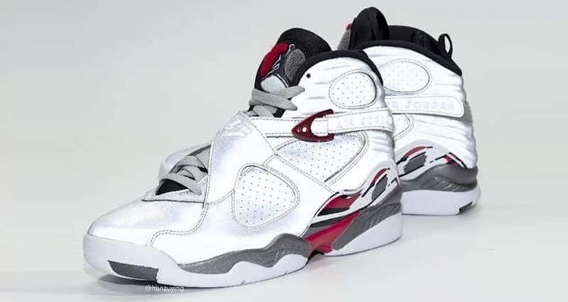 """free shipping 52508 3ce78 Air Jordan 8 """"Reflections of a Champion"""" Goes Full 3M"""