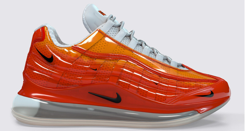official photos 8afba 2ebe7 Nike Air Max 720 95 Heron Preston By You Innovates Customization